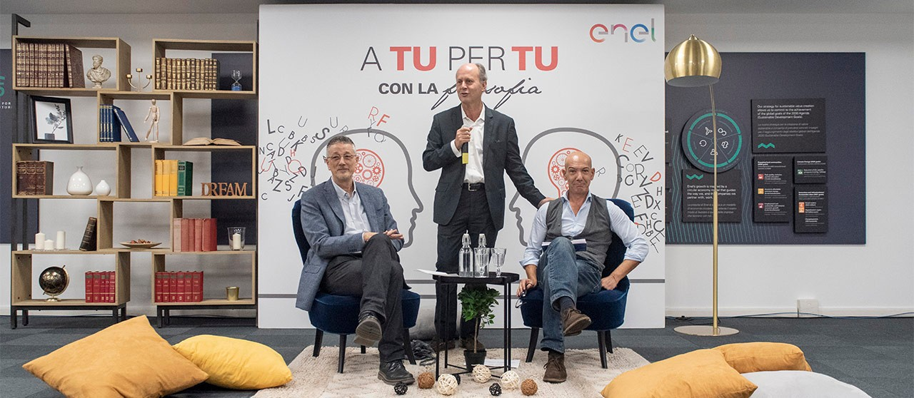 Guido Stratta, Emidio Spinelli, Marco Deriua - Enel.it