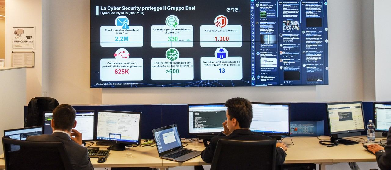 Global control room launched in Turin - Enel.it
