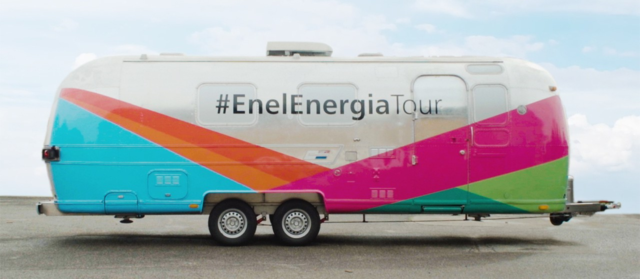 Truck Enel Energia Tour - Enel.it