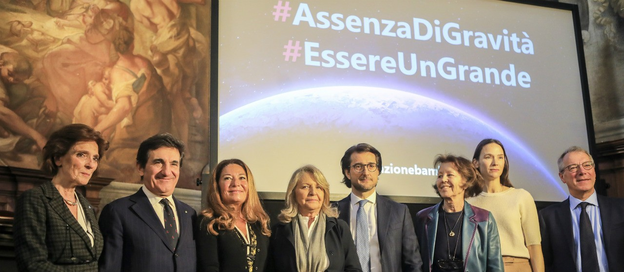 Patrizia Grieco at the launch ot the campaign #AssenzaDiGravità - Enel.it