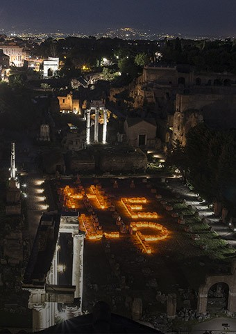 HELP al Foro Romano - Enel.it
