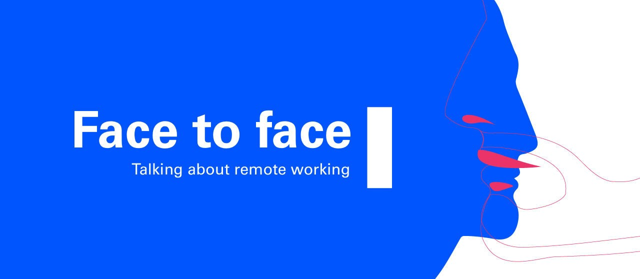 A face to face, talking about remote working - Enel.it