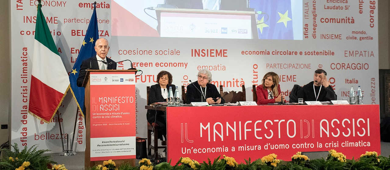 "Francesco Starace interviene all'evento ""Il manifesto di Assisi"" - enel.com"